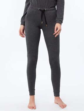 Pantalon legging homewear gris.