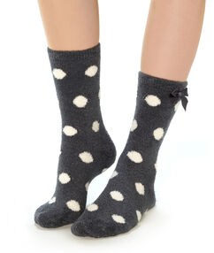 Chaussettes anthracite.