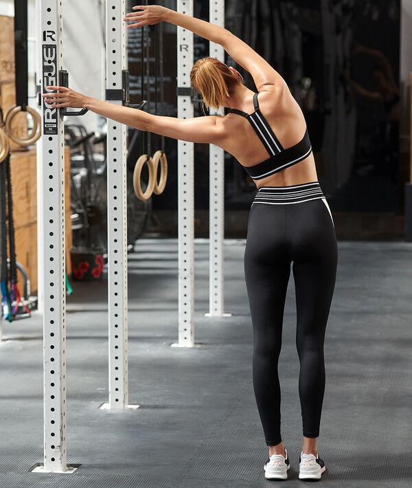 Legging de training bicolore