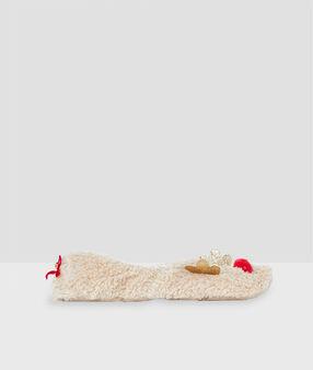 Chaussettes rennes ecru.