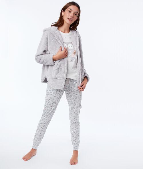 Pyjama trois pièces hibou