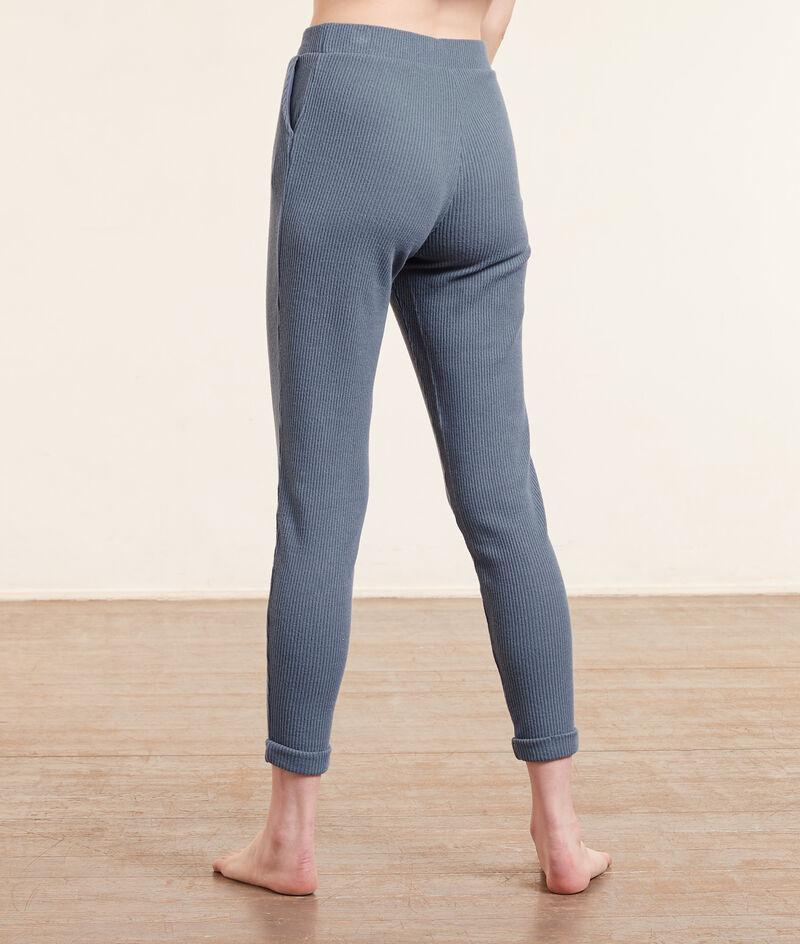 Pantalon jogger côtelé;${refinementColor}