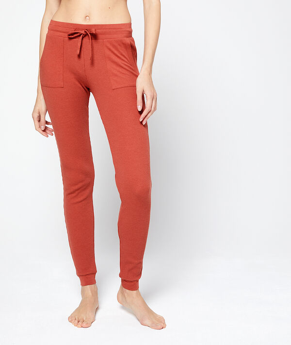 Pantalon homewear slim fit