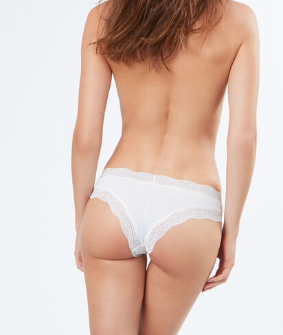 JAZZ - TANGA BORDS DENTELLE GRAPHIQUE