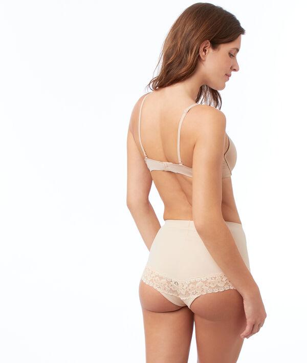 Culotte taille haute dentelle - Niveau 1 : silhouette sculptée