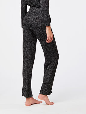 Pantalon large homewear anthracite.