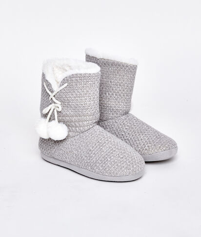 ABEJA - CHAUSSONS BOTTINES FOURRÉS
