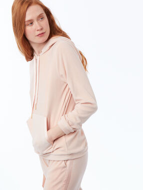 Sweat homewear velours rose.