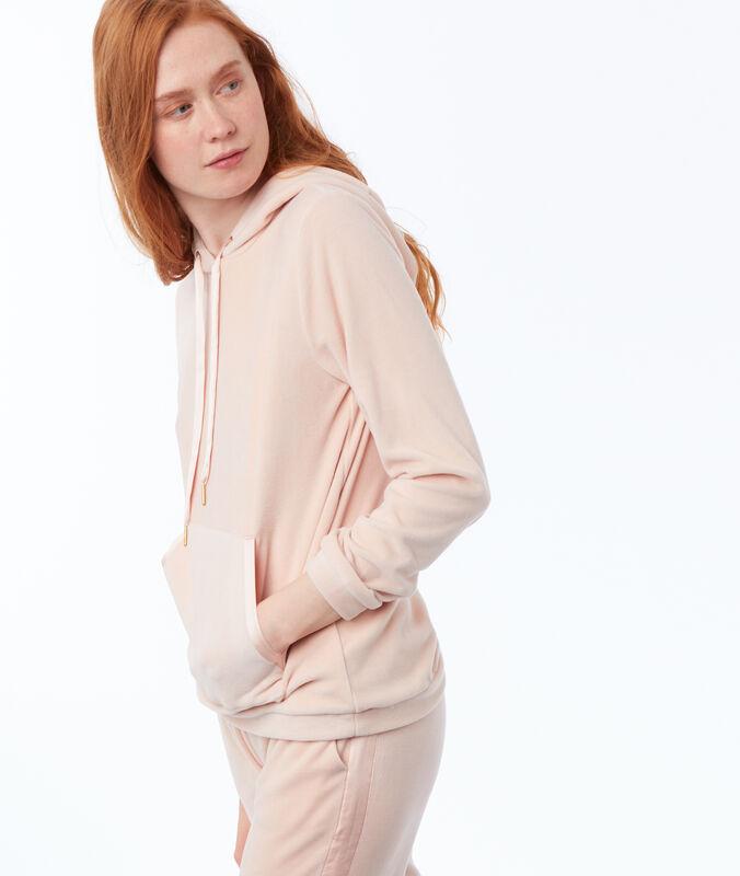 Sweat homewear velours rose.