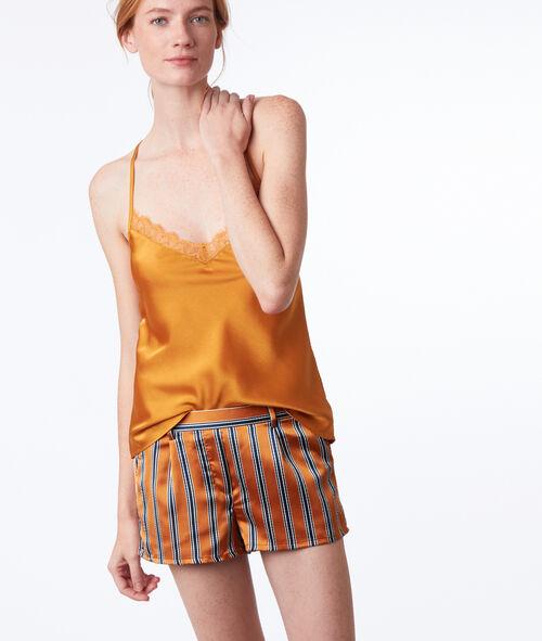Short de pyjama rayé
