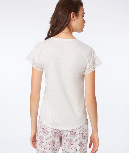 T-shirt imprimé attrape rêve