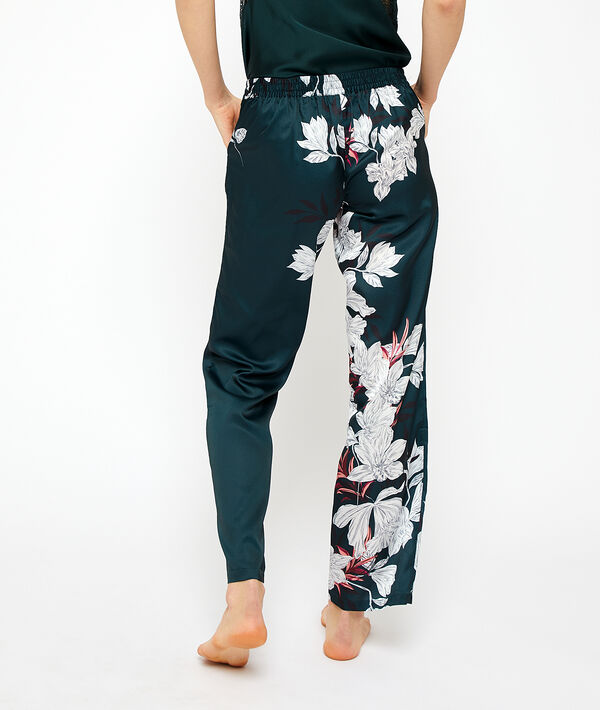 Pantalon de pyjama satiné