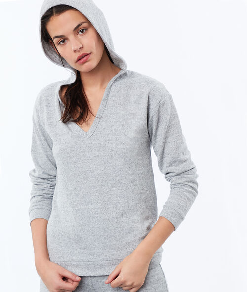 Sweat chiné homewear