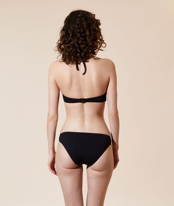 Haut de maillot de bain triangle, pads amovibles;${refinementColor}