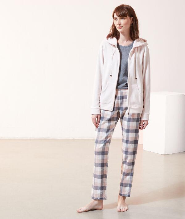 Pyjama 3 pièces, veste micropolaire;${refinementColor}