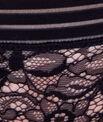 Culotte dentelle florale, détail bande élastique
