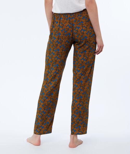 Pantalon imprimé ethnique