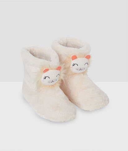 LEON - CHAUSSONS BOTTINES LION