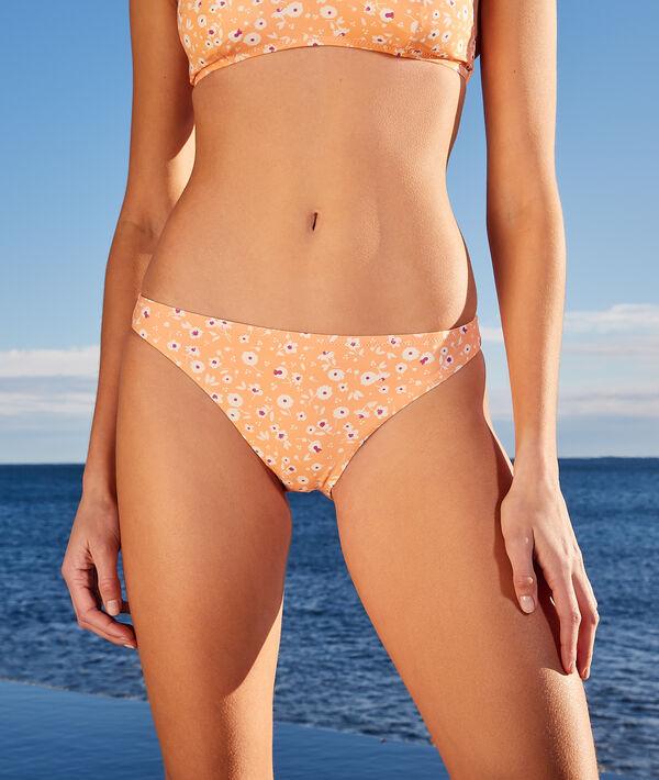 Culotte bikini imprimée maillot de bain;${refinementColor}