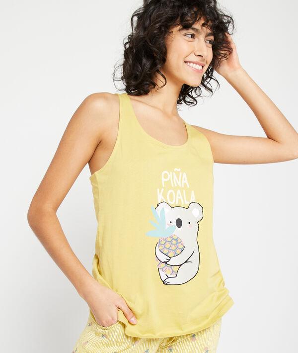 "Débardeur ""Piña Koala"";${refinementColor}"