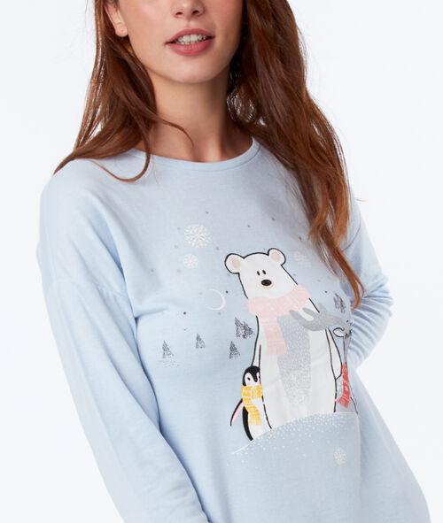 Chemise de nuit animaux