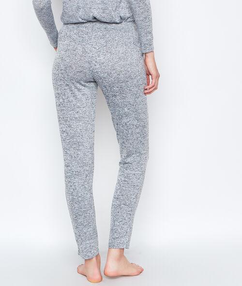 Pantalon chiné coupe classique
