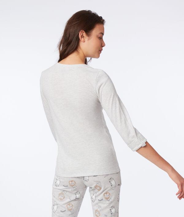 """T-shirt manches longues """"Félins pour l'autre"""""""