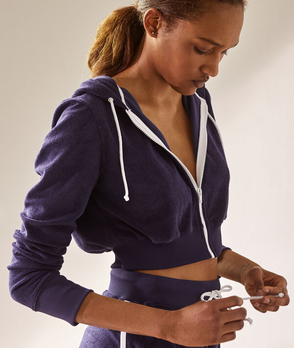 Sweat-shirt crop-top