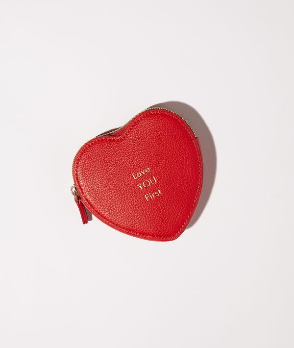 """Petit porte-monnaie cœur """"Love you first"""";${refinementColor}"""