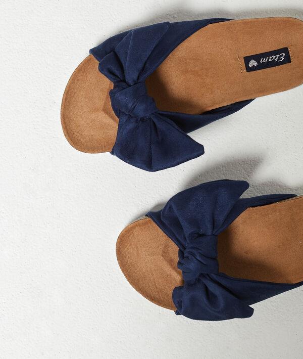 Sandales détail noeud