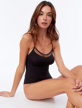 Body col transparent noir.