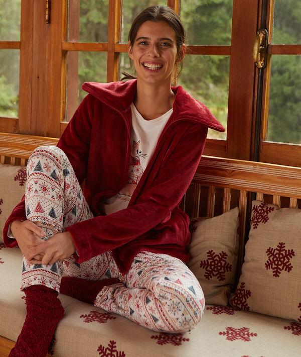 """Pyjama 3 pièces """"Même pas froid"""""""