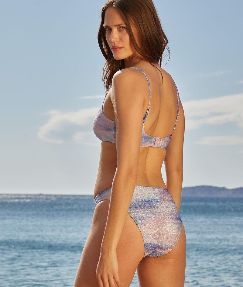 Culotte bikini irisée maillot de bain;${refinementColor}