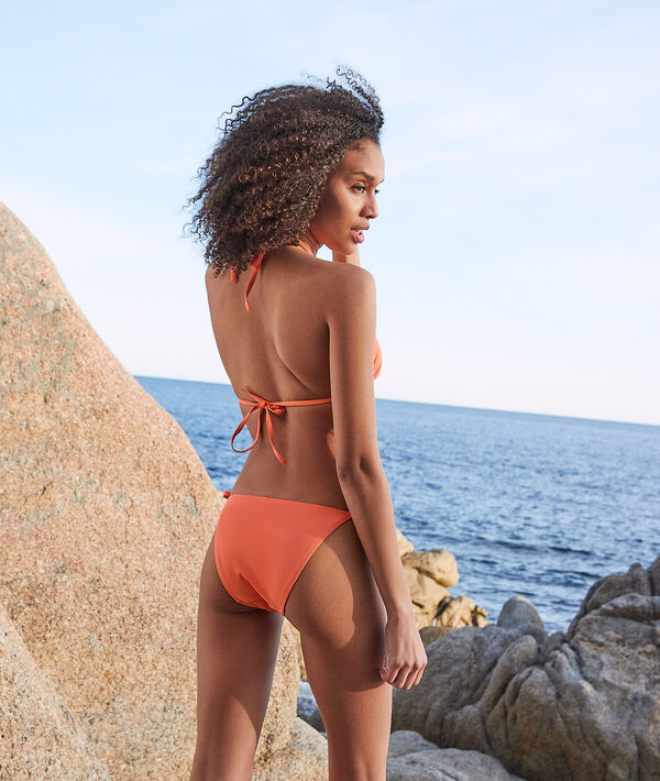 Culotte bikini nouée maillot de bain;${refinementColor}