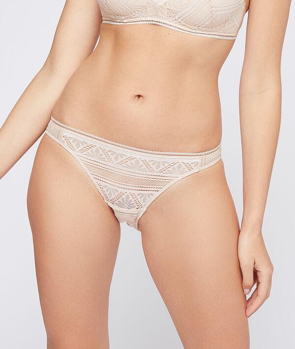 Culotte bikini en dentelle