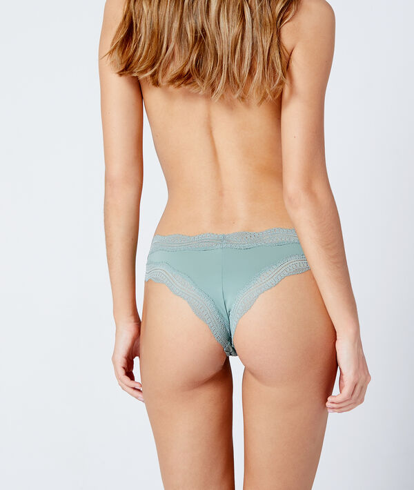 Tanga bords dentelle