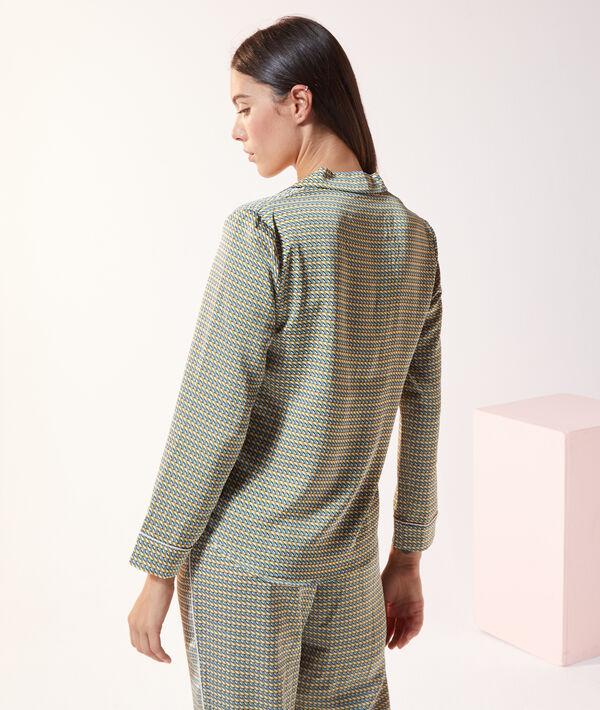 Chemise de pyjama imprimé;${refinementColor}