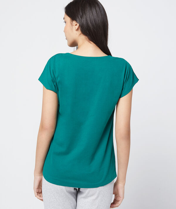 "T-shirt ""Green Lovers"" coton bio"