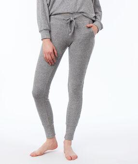 Pantalon leggings homewear gris.
