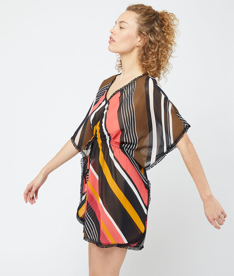 NUISETTE GRAPHIQUE FORME PONCHO