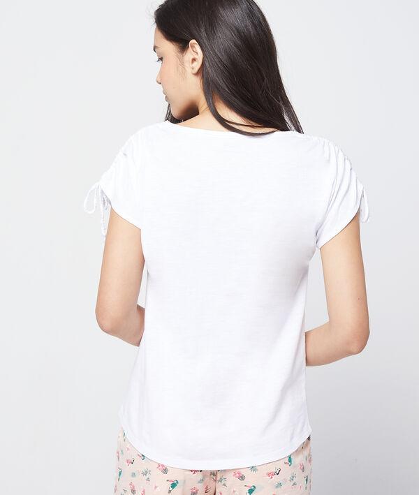 T- shirt imprimé en coton bio