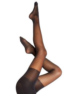 Collants sculptants fesses galbées noir.
