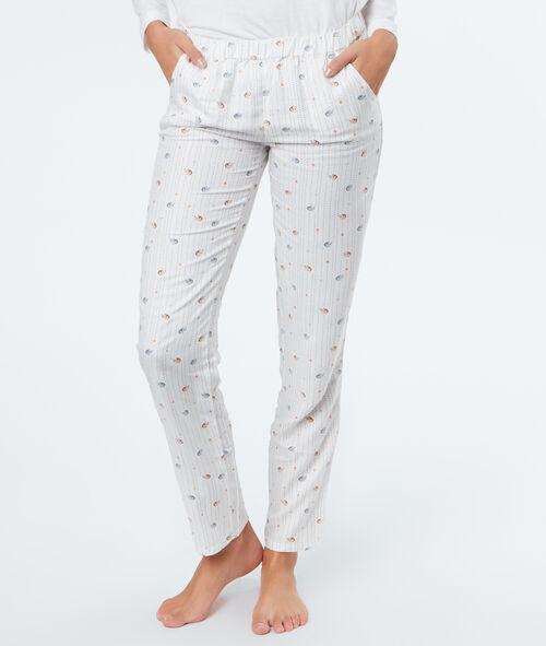 "Pyjama 3 pièces ""Réveillez-moi au Printemps"""
