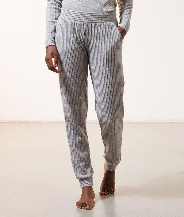 Pantalon côtelé;${refinementColor}