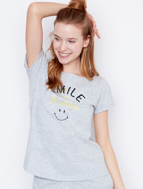 Top message smiley gris.