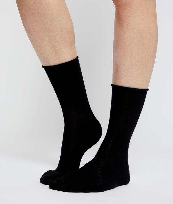 2 paires de chaussettes en coton bio