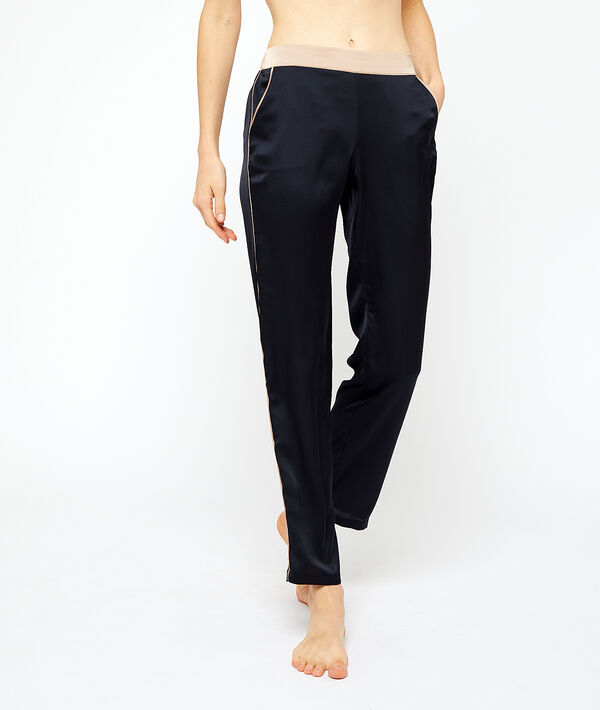 Pantalon satiné