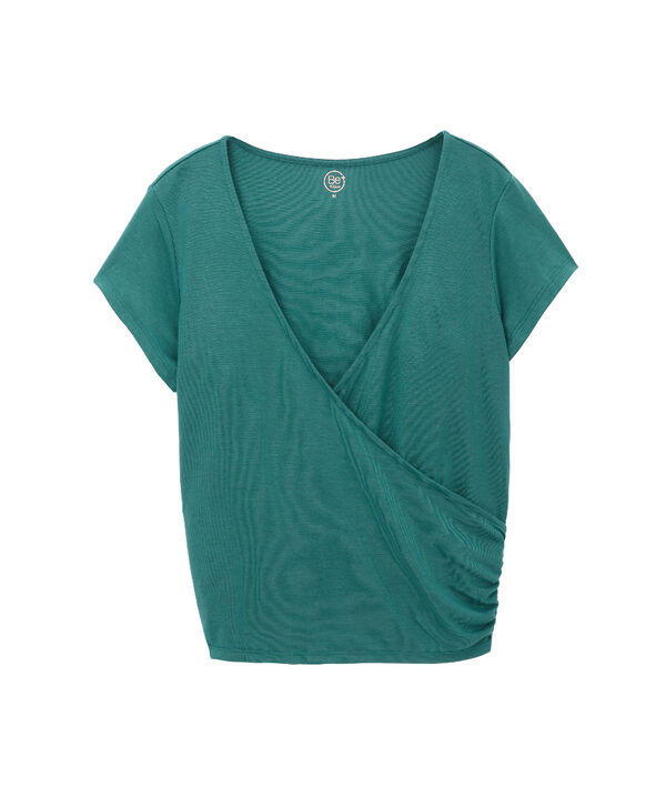 "T-shirt 70% modal ""Breathe"""