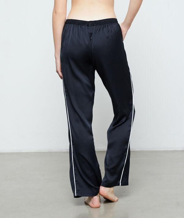 Pantalon de pyjama d'homme satiné