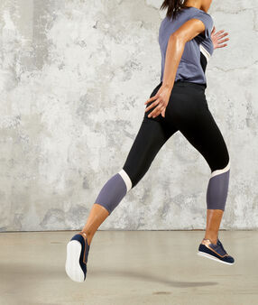 Pantalon de training 7/8 multicolore.